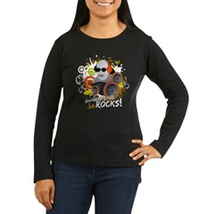 Shakespeare Rocks Women's Long Sleeve Dark T-Shirt