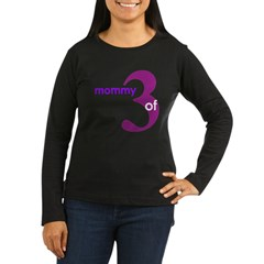 Mommy Shirts Women's Long Sleeve Dark T-Shirt