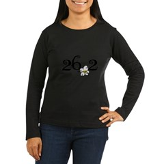 26.3 Daisey Design Women's Long Sleeve Dark T-Shirt