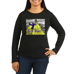 blk-plane-slide (1004 x 834).jpg Women's Long Sleeve Dark T-Shirt