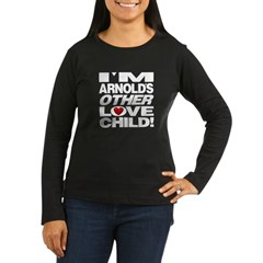 arnold_love_child Women's Long Sleeve Dark T-Shirt