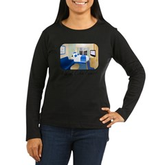 Cabin Fever Women's Long Sleeve Dark T-Shirt