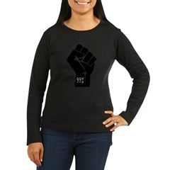 99 % Fis Women's Long Sleeve Dark T-Shirt