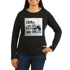 Laundry or Sale Women's Long Sleeve Dark T-Shirt