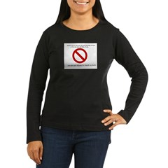 blank.jpg Women's Long Sleeve Dark T-Shirt