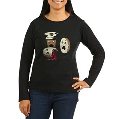 Donut Homicide Women's Long Sleeve Dark T-Shirt
