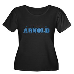 Arnold Air Force Base Women's Plus Size Scoop Neck Dark T-Shirt