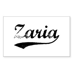 Vintage Zaria Sticker (Rectangle 50 pk)