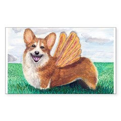 Corgi Rectangle Sticker (Rectangle 50 pk)