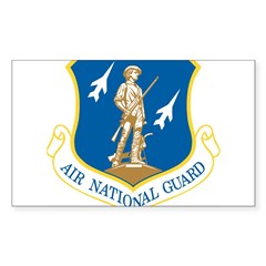 Air National Guard Rectangle Sticker (Rectangle 50 pk)