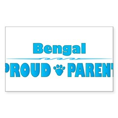 Bengal Parent Rectangle Sticker (Rectangle 50 pk)