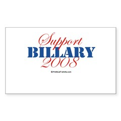 2008 Election Candidates Rectangle Sticker (Rectangle 50 pk)