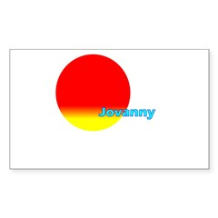Jovanny Rectangle Sticker (Rectangle 50 pk)