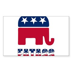 Presidential Election '08!! Sticker (Rectangle 50 pk)