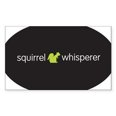 Squirrel Whisperer Sticker (Rectangle 50 pk)