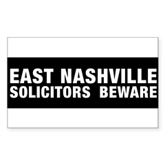 Solicitors beware Sticker (Rectangle 50 pk)