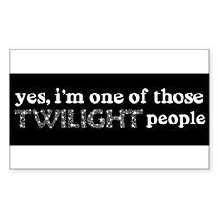 twi ppl Sticker (Rectangle 50 pk)