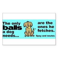 Neuter Support Sticker (Rectangle 50 pk)