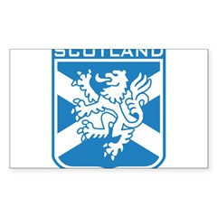 Scotland Rectangle Sticker (Rectangle 50 pk)