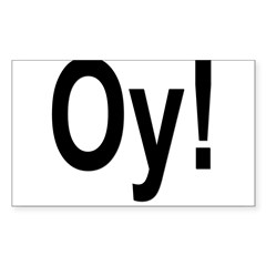 Oval Sticker (Rectangle 50 pk)