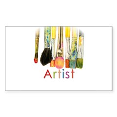 ACEO Art Sticker (Rectangle 50 pk)