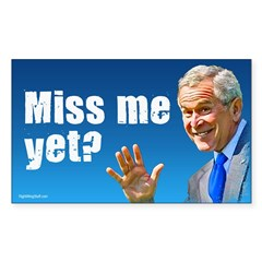 Miss Me Yet? Rectangle Sticker (Rectangle 50 pk)