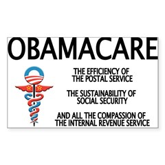 OBAMACARE II Rectangle Sticker (Rectangle 50 pk)