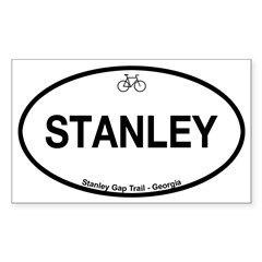 Stanley Gap Trail Sticker (Rectangle 50 pk)