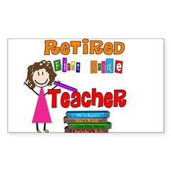 Elementary Sticker (Rectangle 50 pk)