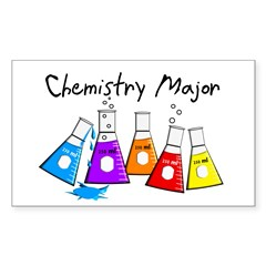 Chemi Sticker (Rectangle 50 pk)