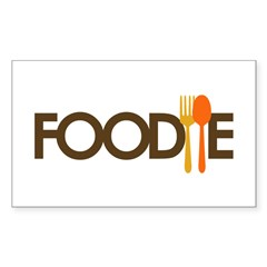 Foodie Sticker (Rectangle 50 pk)