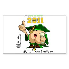"2011 Oswego 3"" Lapel Sticker (48 pk) Sticker (Rectangle 50 pk)"