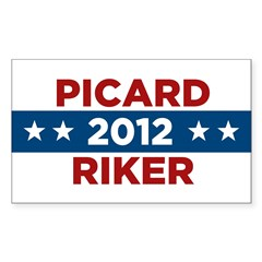 Star Trek Sticker (Rectangle 50 pk)