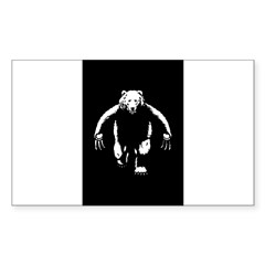 Bearman! Sticker (Rectangle 50 pk)
