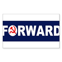 AmerikaForward Sticker (Rectangle 50 pk)