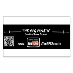 RPG Fanatic Bumper Sticker (single) Sticker (Rectangle 50 pk)