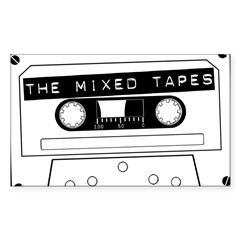 Tape Sticker (Rectangle 50 pk)