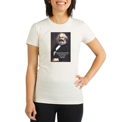 Union of Workers: Marx Organic Women's Fitted T-Shirt