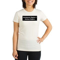 Immigrant Rights Organic Women's Fitted T-Shirt