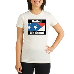 United We Stand Organic Women's Fitted T-Shirt