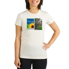 Eye on Gardening Tropical Plants Organic Women's Fitted T-Shirt