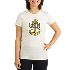 Chief Petty Officer<BR> Tank Top 4 Organic Women's Fitted T-Shirt