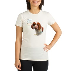 Welsh Springer Best Friend Organic Women's Fitted T-Shirt