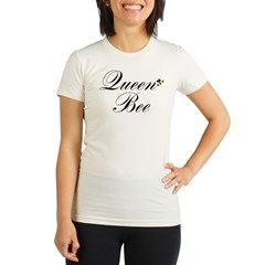 Queen Bee Organic Women's Fitted T-Shirt
