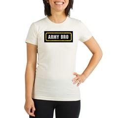 Army Bro Organic Women's Fitted T-Shirt