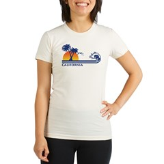 California Organic Women's Fitted T-Shirt