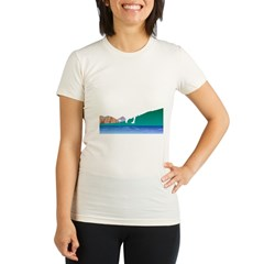Golf Everywhere Organic Women's Fitted T-Shirt