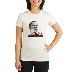 President Obama Organic Women's Fitted T-Shirt