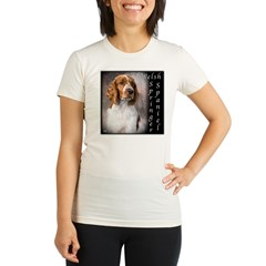 Welsh Springer Spaniel Organic Women's Fitted T-Shirt