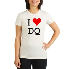 I Love DQ Organic Women's Fitted T-Shirt